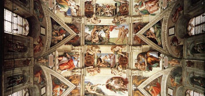 O que representa a Capela Sistina – Michelangelo